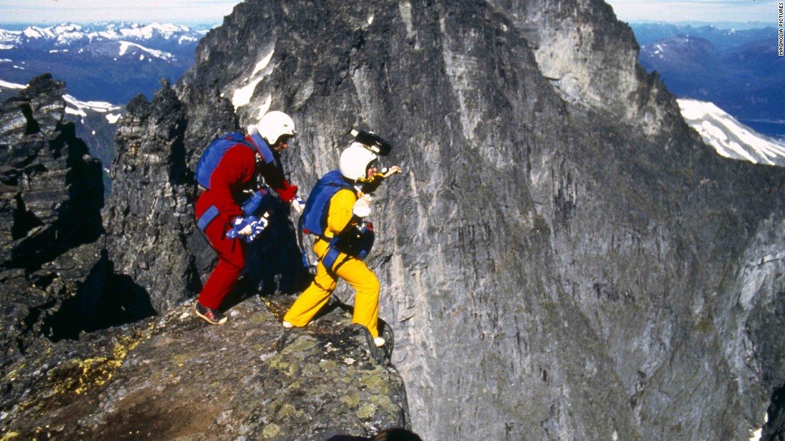 "Carl and Jean Boenish set the first BASE jumping Guinness World Record in 1984, on the Norwegian ""Troll Wall"" mountain range. Within days, their triumph was followed by the tragedy of Carl's death during a ""Troll Wall"" jump."