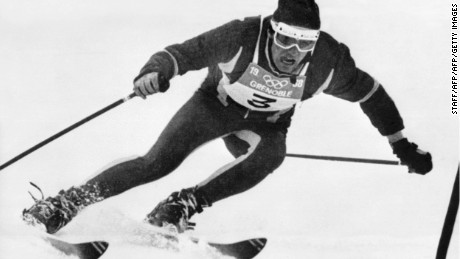 Val D'Isere's hometown hero: Jean Claude Killy