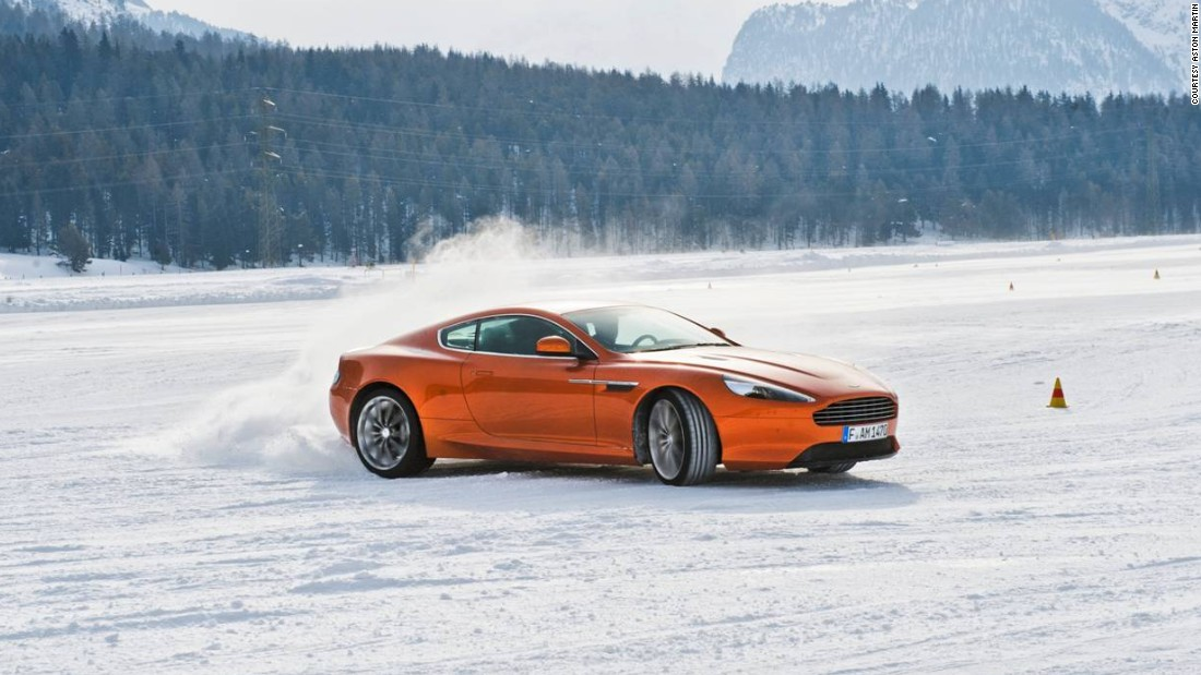 "Rounding out the trio of Aspen programs, Aston Martin takes over an exclusive ranch to stage its <a href=""http://www.astonmartin.com/en/events/on-ice"" target=""_blank"">007-worthy winter driving school</a>. In addition to the excitement behind the wheel, they promise ""gastronomic delights"" as well. Still it's no surprise Astons can handle bad weather -- they are British cars after all."