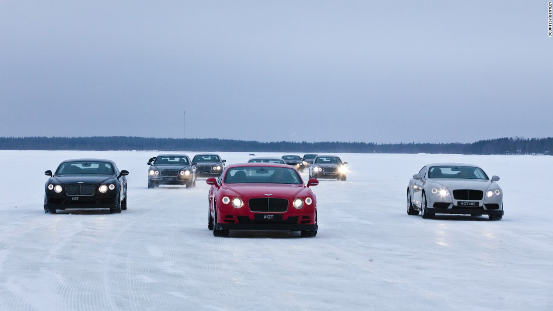 "It's safe to assume that the world's most powerful, luxurious and exclusive SUV is no slouch in the snow, but Bentley enthusiasts have a chance to find out for sure at <a href=""http://events.bentleymotors.com/en/power-on-ice/"" target=""_blank"">the brand's Power On Ice event in Finland</a>. The new $229,000-plus Bentayga joins the all-wheel drive Continental GT and Flying Spur at the lavish event which also features an ice bar and some sauna time."