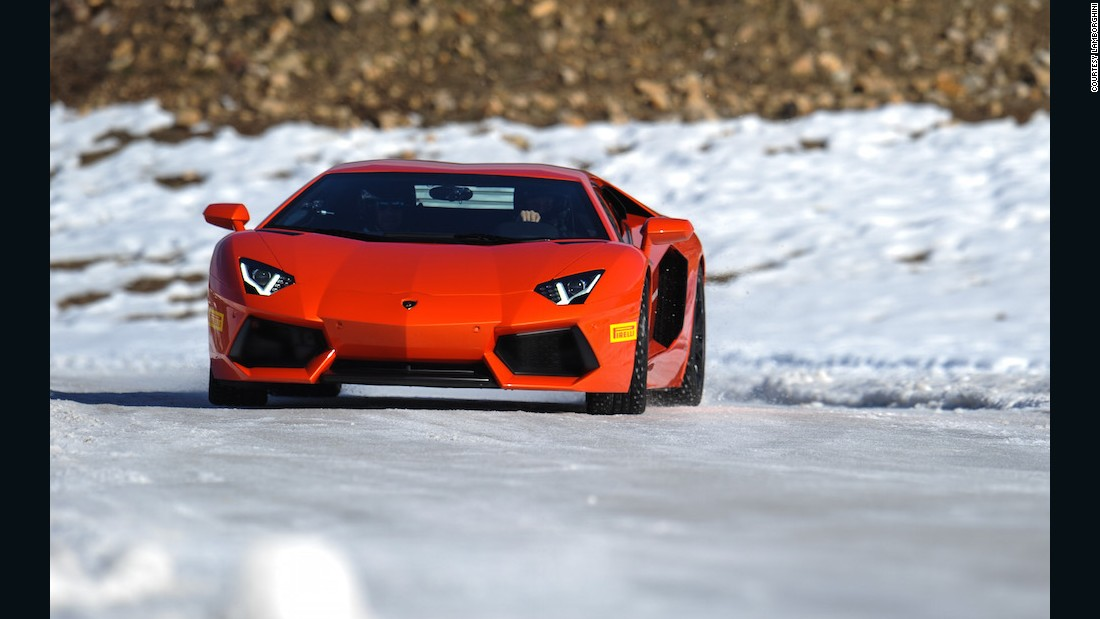 "You might not realize that many Lamborghinis feature all-wheel drive systems, and are just as at home on a frozen lake as a race track. Still there is something so outlandish about driving one in the snow that it will surely make you feel like a secret agent. Choose from <a href=""https://www.lamborghiniallaccess.com/"" target=""_blank"">programs in Aspen or Italy</a> with two levels of training."