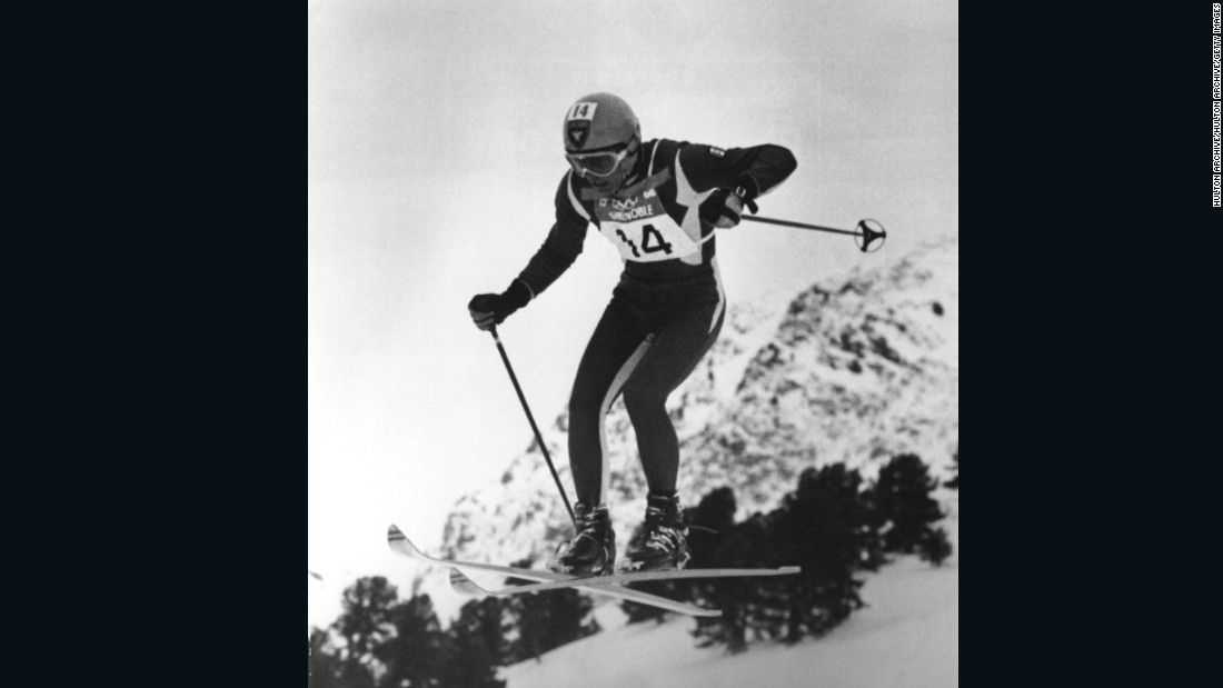 Killy won downhill, giant slalom and slalom gold at the Grenoble Games in 1968.