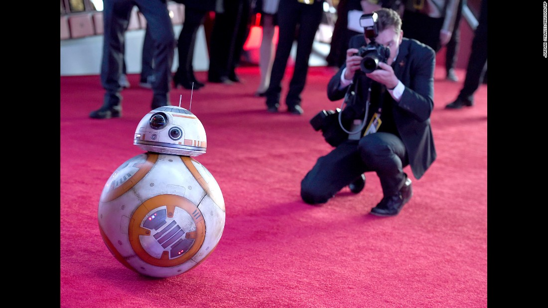 "This new droid, BB-8, is already drawing buzz after appearing in the ""Star Wars: The Force Awakens"" trailers."