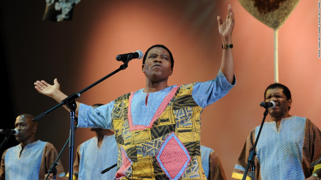 The male choral group Ladysmith Black Mambazo were founded in Durban, South Africa in 1960s, and were hailed by Nelson Mandela as South Africa's cultural ambassadors. They won international acclaim after working with Paul Simon, of the Simon and Garfunkel fame.