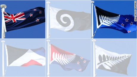 New Zealanders chose the Silver Fern design over four other contenders in a nationwide vote.