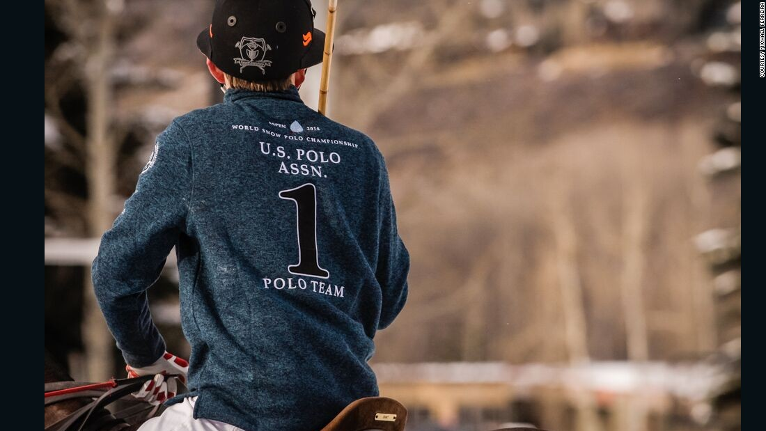 Organizers say the Aspen event, which runs from Thursday to Saturday, is the only snow polo tournament in the U.S.