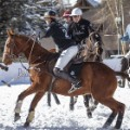 snow polo match
