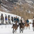 snow polo chase