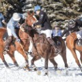 snow polo competition aspen