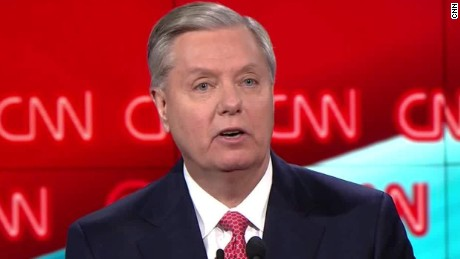 Lindsey Graham cnn gop debate defeat isis online 5 sot_00003708