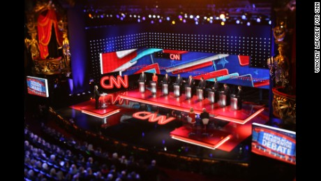 CNN GOP Debate, Vincent Laforet