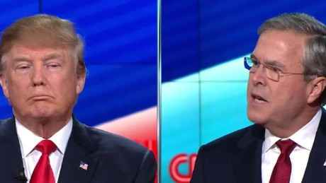 jeb bush donald trump cnn gop debate chaos candidate muslims isis 12_00000210