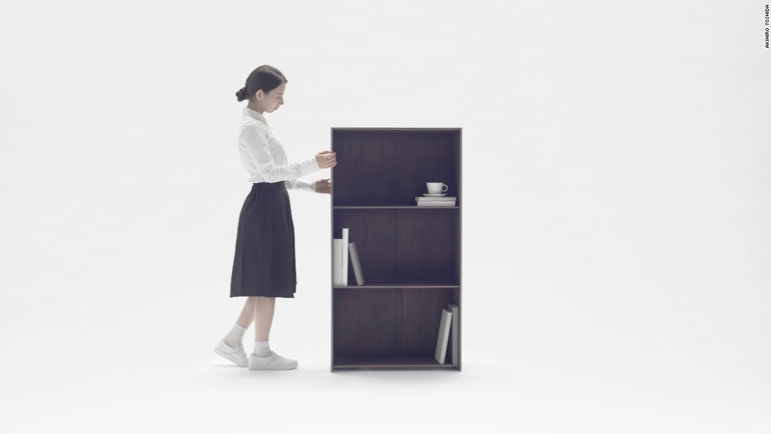 In September, Nendo revealed the Nest Shelf, a storage unit with minimal design.