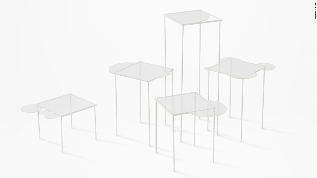 In 2012, Nendo collaborated with Lasvet, a crystal and glass company based in the Czech Republic, on the Overflow table.