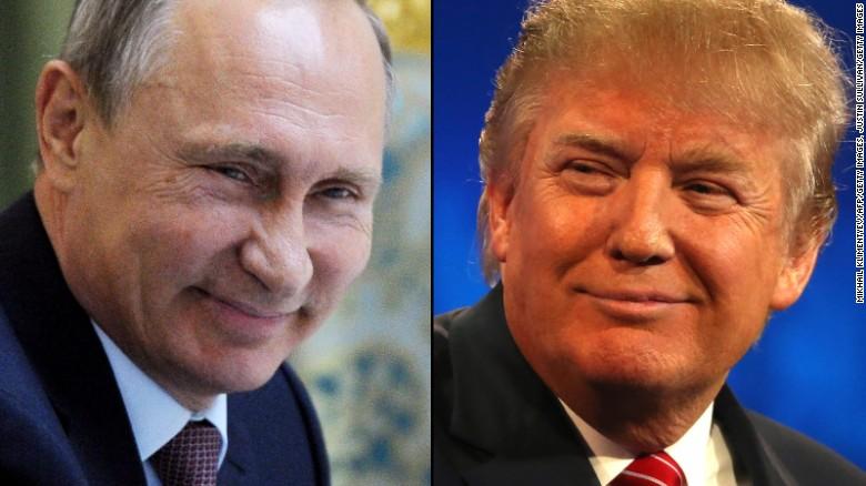 Putin praises Donald Trump