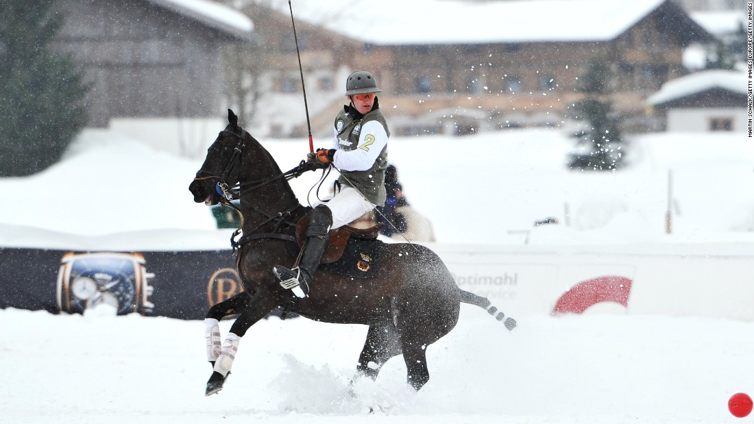 "The Austrian town Kitzbuehel also hosts its own Snow Polo World Cup, which it bills as the ""<a href=""https://www.kitzbuehel.com/en/events-lifestyle/top-events/14th+valartis+bank+snow+polo+world+cup_te45882"" target=""_blank"">world's largest polo tournament on snow</a>.""  The 15th staging will be in January 2016."