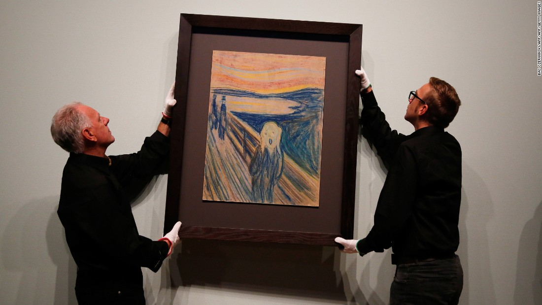 "The sale of Edvard Munch's ""The Scream"" to billionaire Leon Black for $119.9 million in 2012 marked more than a new art record: it was the first time that a pastel, rather than an oil or acrylic painting, came anywhere near achieving such a price. This was in part due to the overwhelming popularity and international fame of the image, and the fact that it is the only version of Munch's signature work that is not owned by a museum."