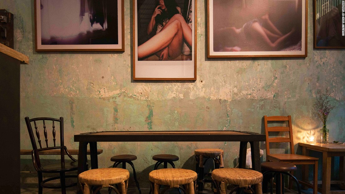 Teens of Thailand is a dedicated gin bar housed in a renovated Chinatown shophouse.