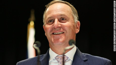 New Zealand Prime Minister John Key speaks at a press conference in Wellington earlier this month.