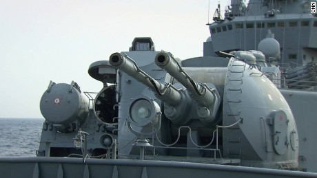 Russian military warship sends powerful message in Syria