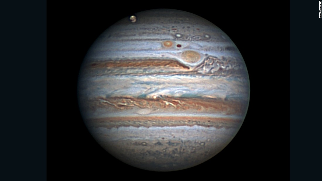 This image of Jupiter captured from the DAV in 2012 was created by stacking 2,500 video frames over a two-minute period with an Astro-Video camera.