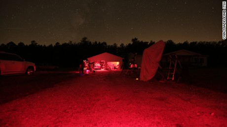 Up all night with a village of star gazers