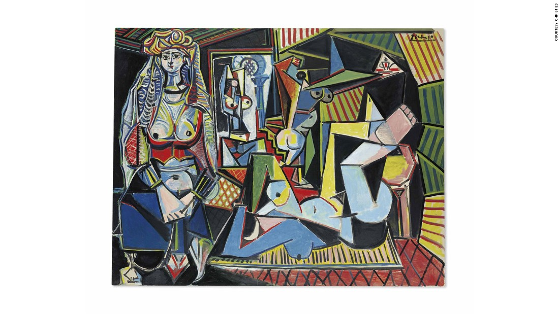 Setting a world record for an artwork sold at auction when it was purchased by the Qatari royal family in 2015, Les femmes d'Alger is in many ways the quintessential collectible Picasso: bold colors, fragmented planes, nude women, and art historical references (in this case, to Delacroix and Matisse). The work had previously sold for $31.9 million in Christie's 1997 auction of the collection of Victor and Sally Ganz -- a sale that many say ignited the current art boom.