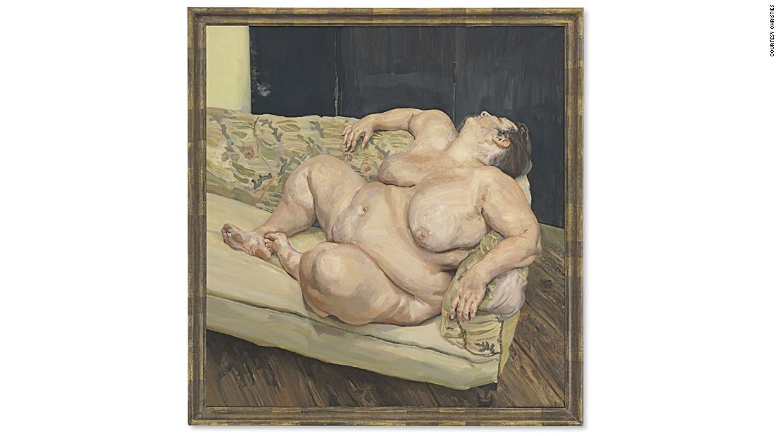 "The portrait of the ample-bodied Sue Tilley, a British government worker, was one of four such paintings the British artist produced of the woman he called ""Fat Sue.""  <a href=""http://www.christies.com/features/Lucian-Freuds-Benefits-Supervisor-Resting-5994-3.aspx"" target=""_blank"">Described</a> by Christie's in its catalogue as ""one of the most remarkable paintings of the human figure ever produced."" The portrait -- for which Ms. Tilly <a href=""http://www.dailymail.co.uk/news/article-3082464/1994-Freud-titled-Benefits-Supervisor-Resting-sells-auction-35-8million.html"" target=""_blank"">reportedly</a> earned £20 per day as a model -- achieved a record for the artist when it sold at Christie's New York in May, 2015."