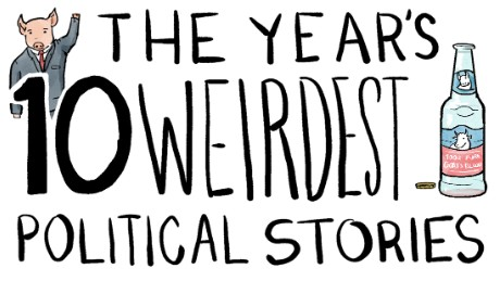 10 weirdest political stories 2015 illustration mullery