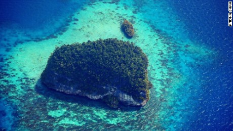 Palau's Rock Islands are a UNESCO World Heritage site.