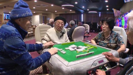 Are Japan's seniors gambling away dementia?