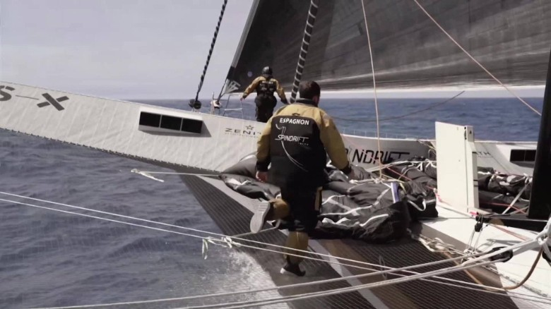 How to sail the world in record time
