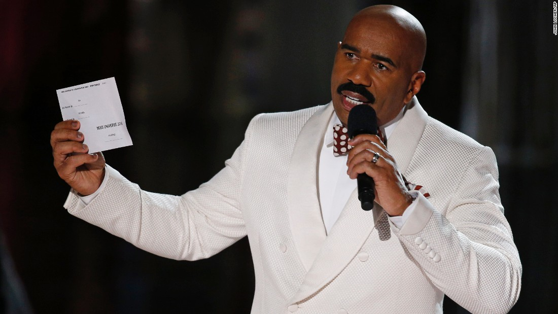 Steve Harvey had to apologize after he incorrectly announced Miss Colombia Ariadna Gutierrez at the winner at the Miss Universe pageant on December 20. The winner was actually Miss Philippines Pia Alonzo Wurtzbach.