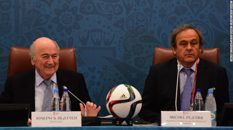 FIFA bans Blatter, Platini for 8 years