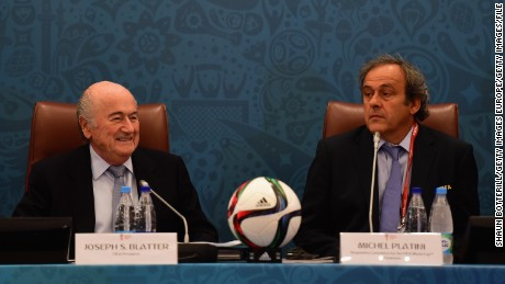 FIFA upholds bans for the two former senior officials