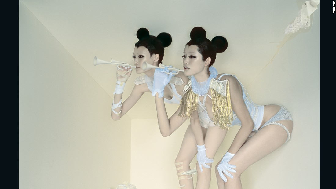 This work is called 'Double Mickey' and was shot for Tony Studio in 2004.