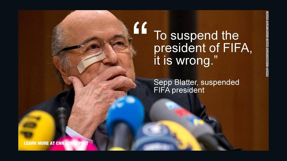 Sepp-Blatter-Blast