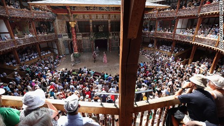 Shakespeare's Globe: The reconstructed theater has been entertaining crowds since 1997.