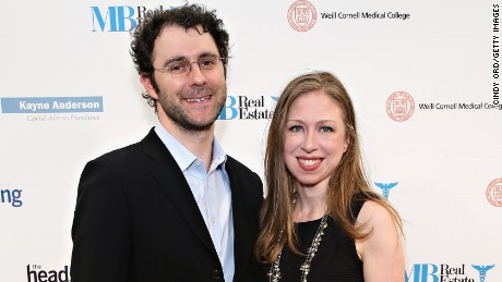 NEW YORK, NY - OCTOBER 19:  Marc Mezvinsky and Chelsea Clinton attend The Headstrong Project's 3rd annual Words of War event at One World Trade Center on October 19, 2015 in New York City.  (Photo by Cindy Ord/Getty Images for The Headstrong Project)