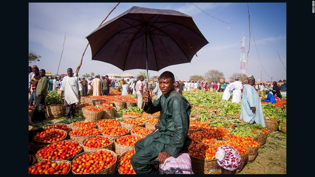 Nigerian farmers are losing up to half of their produce to spoilage, due to a lack of cold storage.