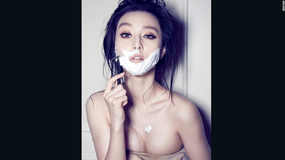Chen Man shot actress Fan Bingbing for this Esquire shoot in 2009.