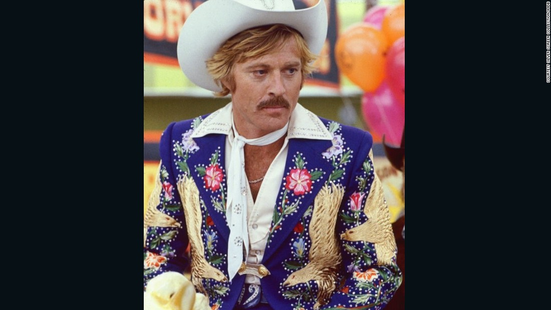 "Cohn's awesome suits were worn by western performers and rodeo stars. His famous clients included Robert Redford in 1979 film ""The Electric Horseman."""