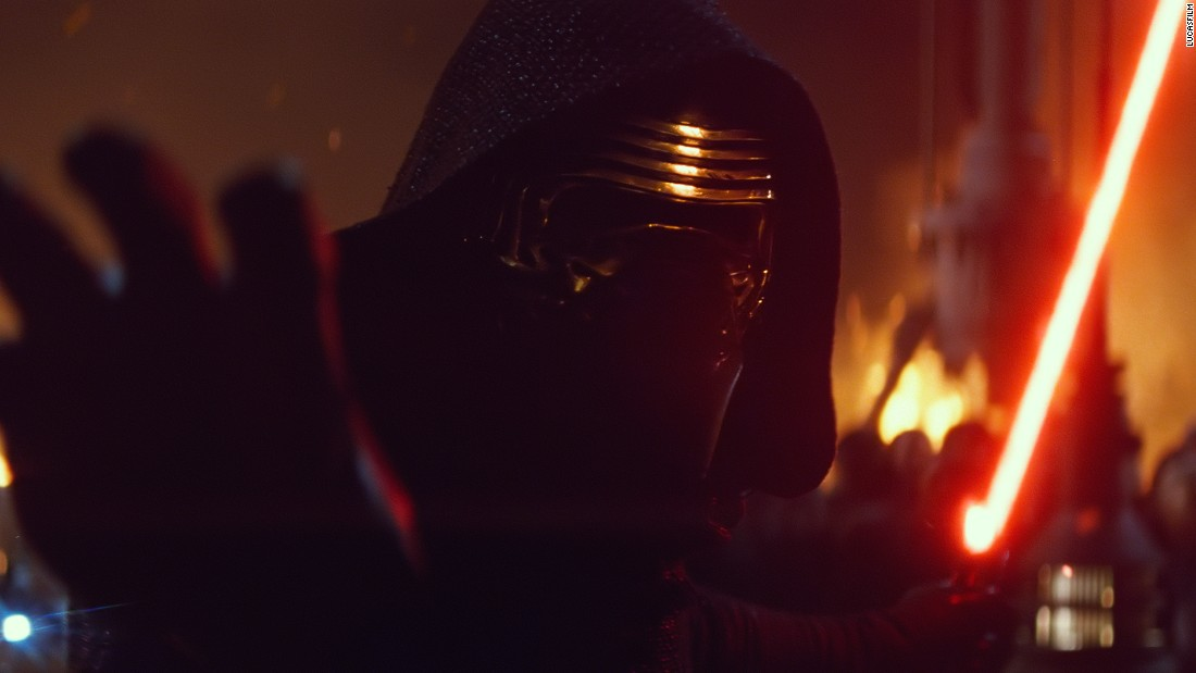 "<strong>Kylo Ren</strong> (Adam Driver), the movie's antagonist, wielding a distinctive red lightsaber with crossguard exhausts. Before ""Star Wars,"" Driver was best known as Adam Sackler, Lena Dunham's hapless love interest, in the hit HBO series ""Girls."" He also happens to be a former Marine."
