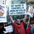Donald Trump Muslim ban protest