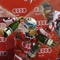 Marcel Hirscher champagne