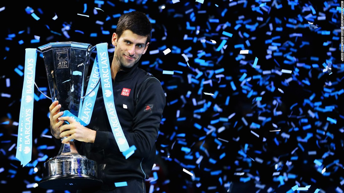 <strong>November, London</strong>: The tennis tour returns to London as the season concludes. But this time the matches are played indoors at the O2 Arena. Djokovic claimed the title last November to cap a dominant season.