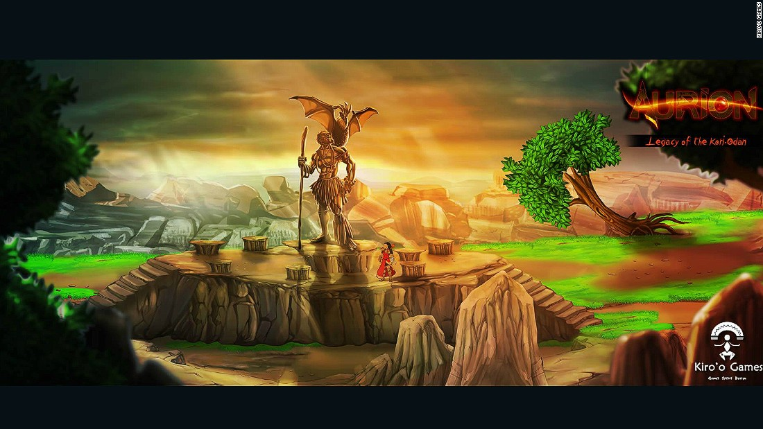 "Though Aurion's characters represent more diversity in the video game universe, Olivier says that was not the point for him when making the game. <br />""We are making a game for gamers. Our idea is that we get inspiration from comics and mix it with our own style,"" he says."