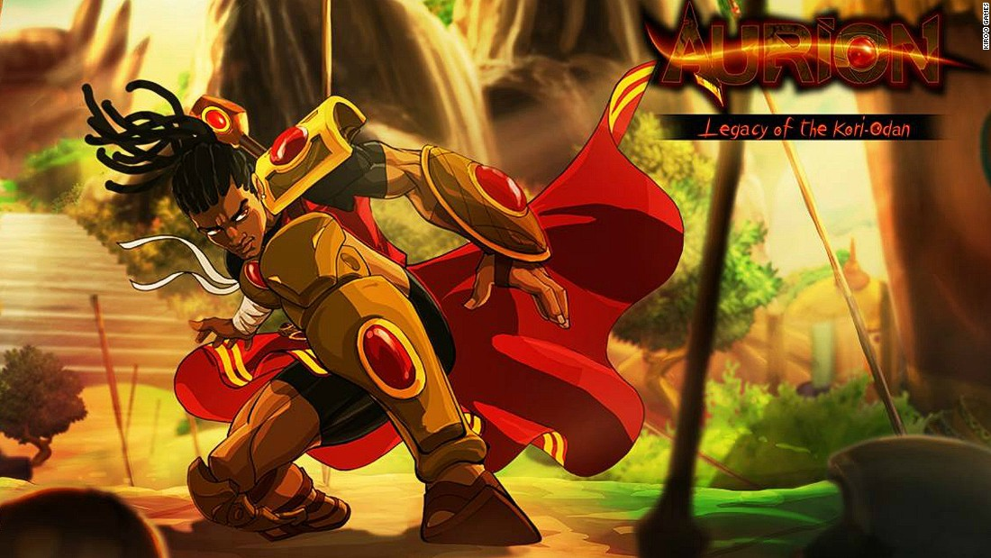 Cameroon's first ever video game, Aurion: Legacy of the Kori-Odan, features an African hero, and is part of a growing video games industry across Africa.