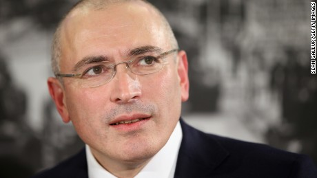 Once Russia's richest man, Khodorkovsky was jailed for 10 years before he received a pardon by Putin.