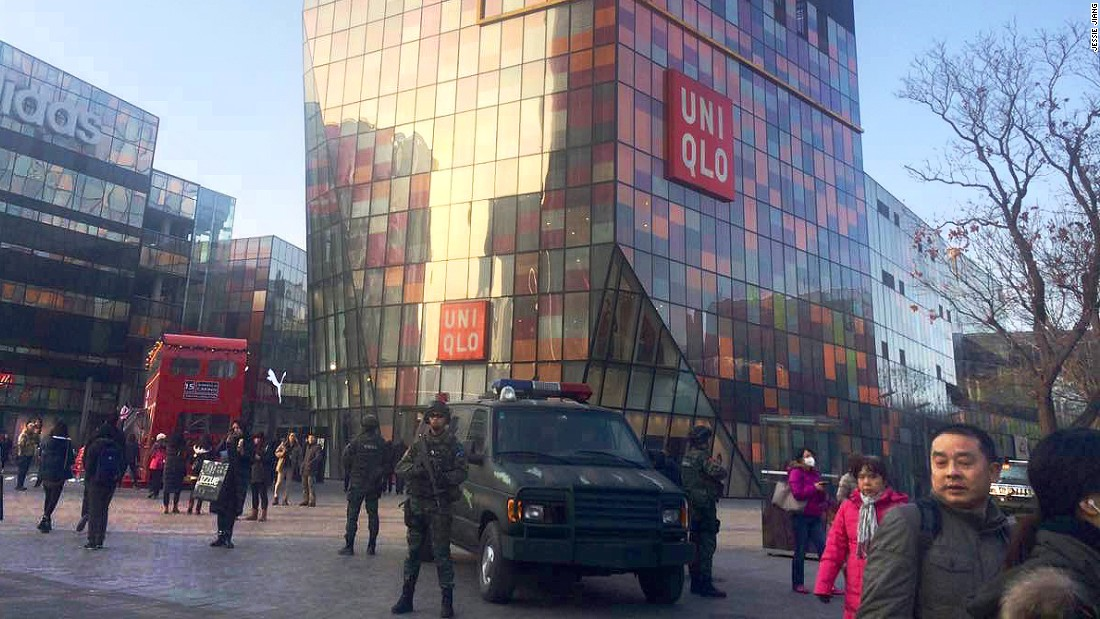 Both the British and U.S. embassies in China sent out warnings to their citizens and staff on Christmas eve, urging extra vigilance if they are in Beijing's Sanlitun area.